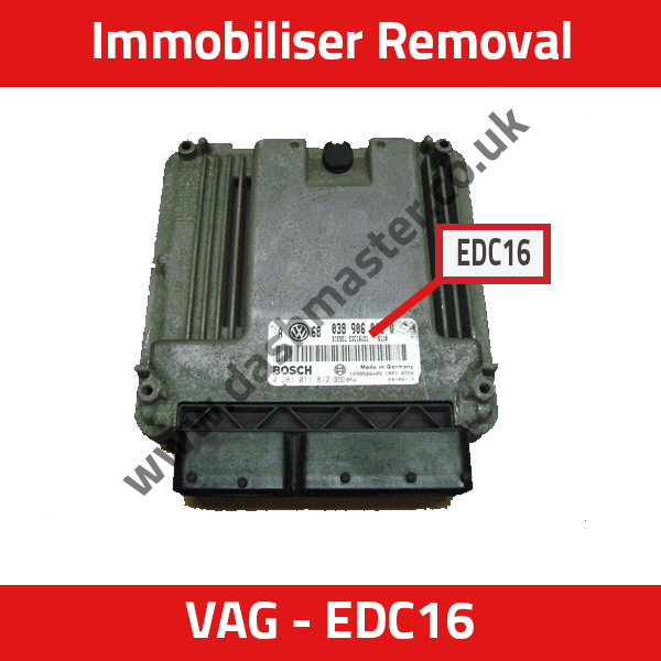 IMMO REMOVAL SERVICE: VW, Audi, Skoda and Seat Bosch EDC16