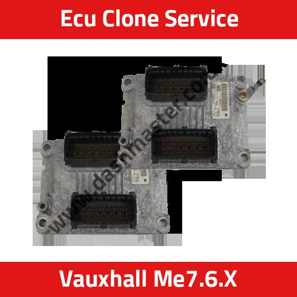ECU CLONE SERVICE: Vauxhall Bosch ME7 6 1 / ME7 6 2 / ME7 6 3